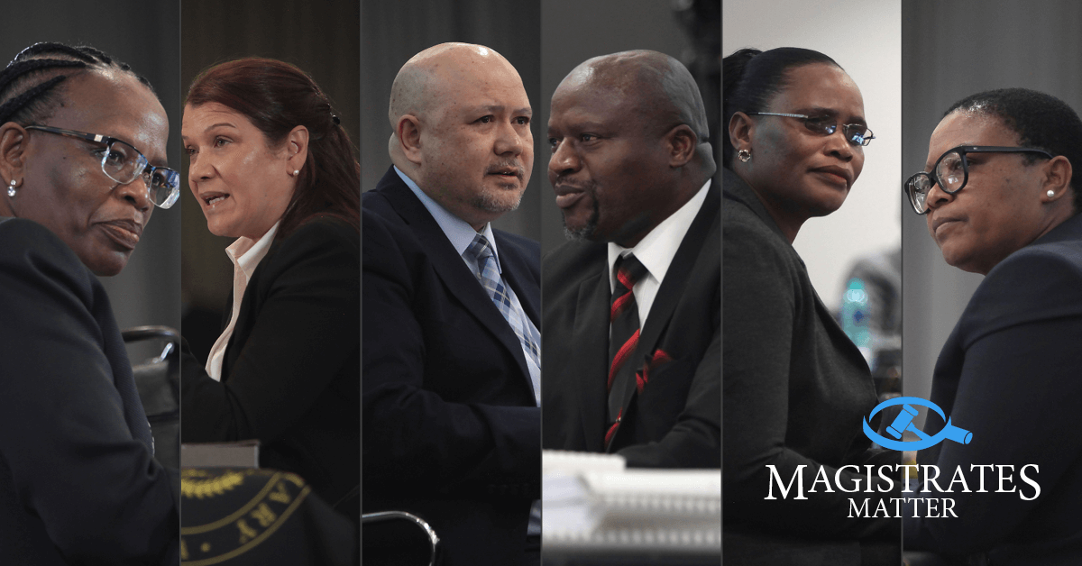 MAGISTRATES past and present, who successfully interviewed in the April 2021 JSC interviews